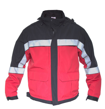 Shield Color Block Duty Jacket