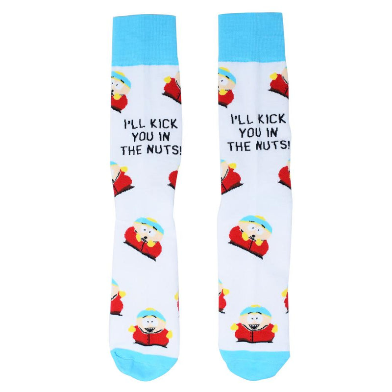 South Park Cartman Kick You in the Nuts Socks