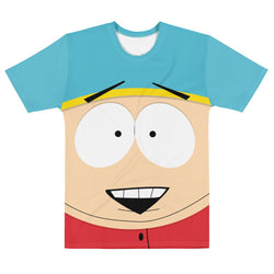 South Park Cartman Big Face Adult All-Over Print T-Shirt