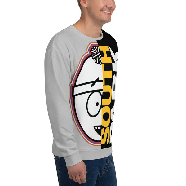 South Park Split Stan Adult All-Over Print Sweatshirt