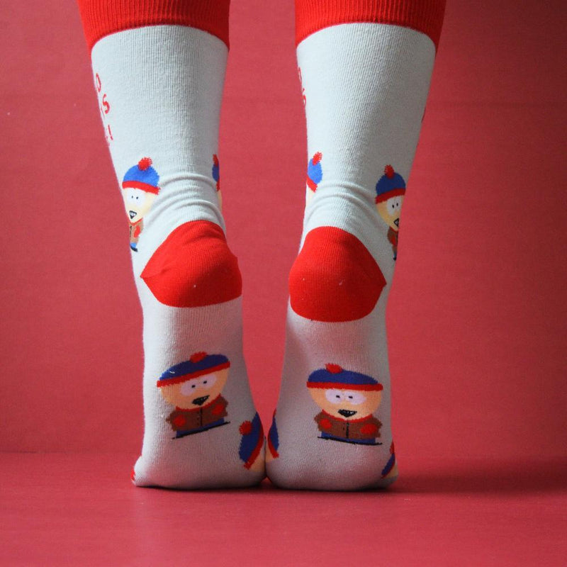 South Park Stan No Parents is Awesome Socks