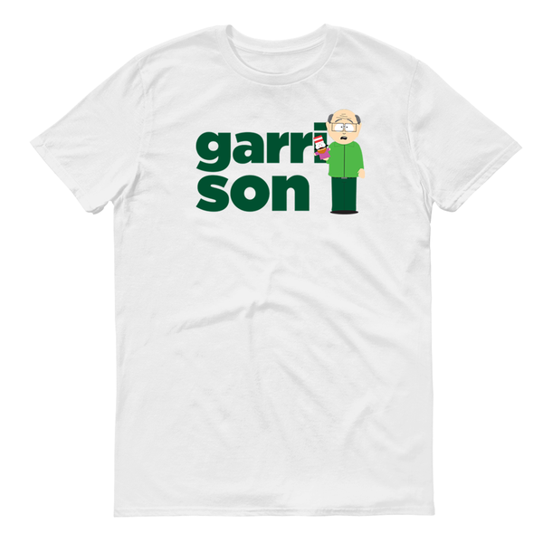 South Park Garrison Name Adult Short Sleeve T-Shirt