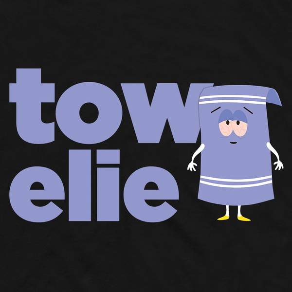 South Park Towelie Name Adult Short Sleeve T-Shirt