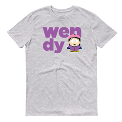 South Park Wendy Name Adult Short Sleeve T-Shirt