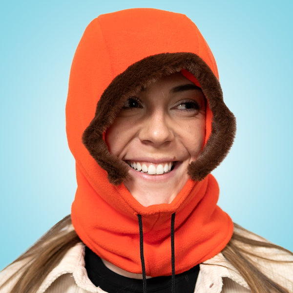 South Park Kenny Cosplay Hooded Hat with Fur