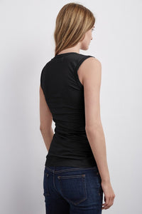 Estina Tank Top Black