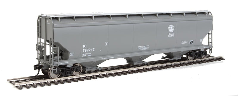 WalthersMainline 910-7651 60' NSC 5150 3-Bay Covered Hopper - Ready to Run -- Illinois Central
