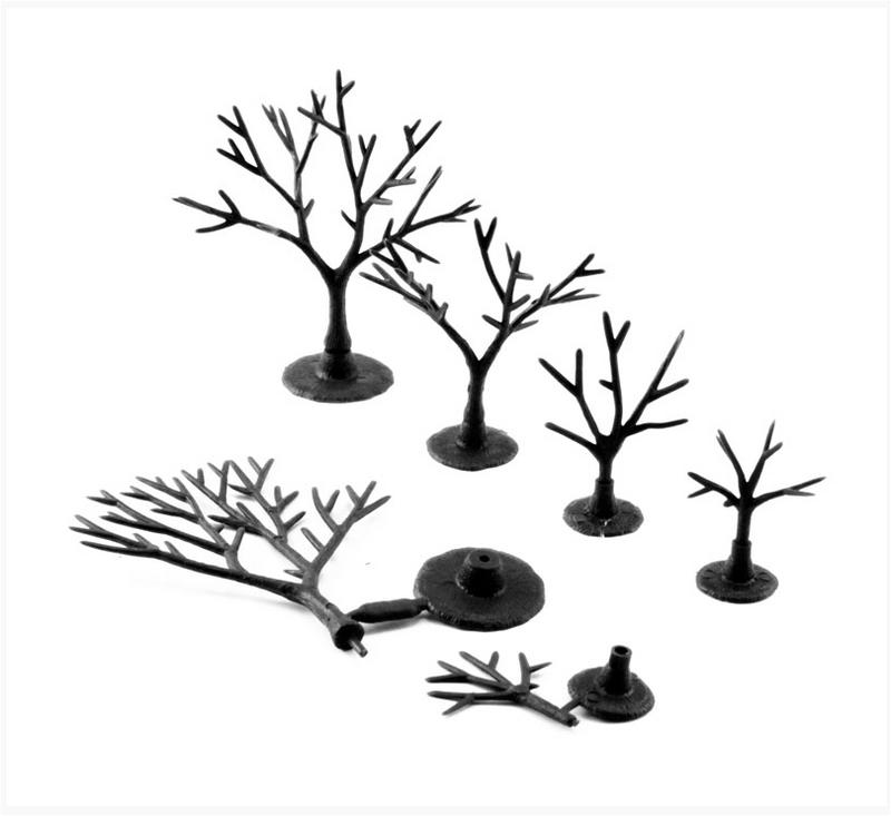 "Woodland Scenics 1120 3/4"" To 2"" Armatures (Deciduous)"