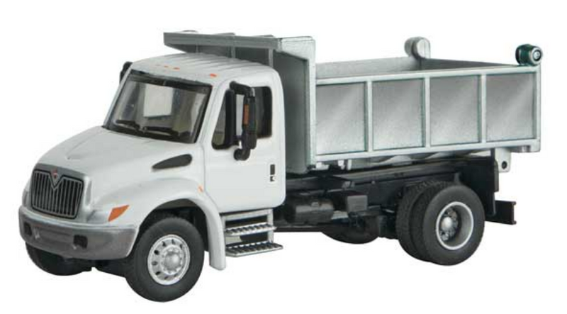 Walthers SceneMaster 949-11637 International 4300 Single Axle Dump Truck - Assembled, HO