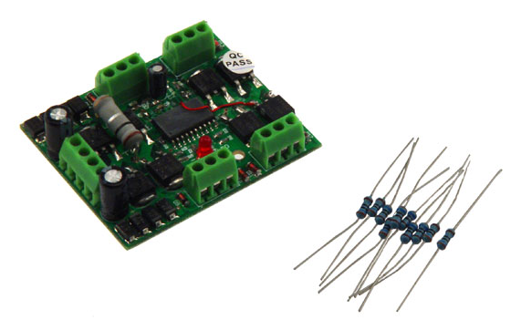 MRC 1628 ACCESSORY DCC DECODER: 4 OUTPUTS