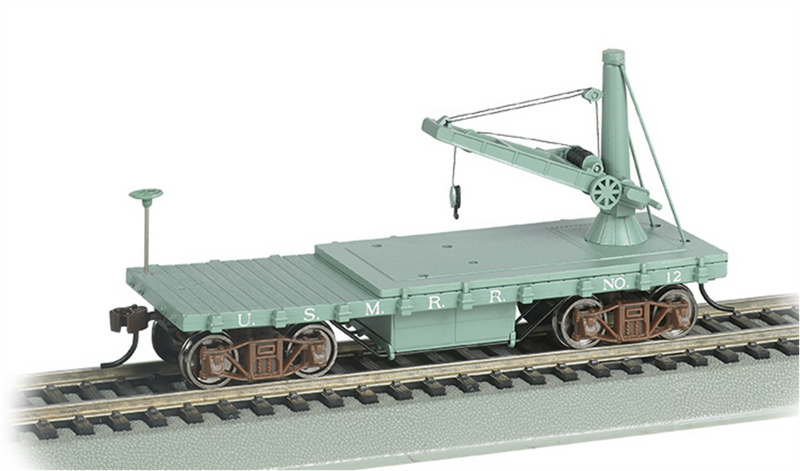 Bachmann 16419  Old Time Derrick Car Us Military, HO