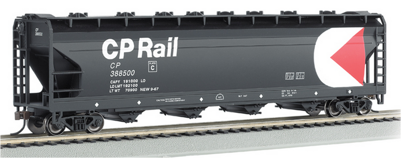 Bachmann 17529 CP Rail - 56' ACF Center-Flow Hopper, HO