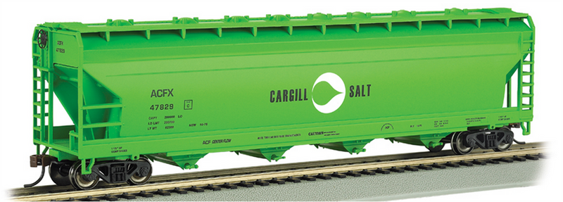 Bachmann 17531 Cargill Salt - 56' ACF Center-Flow Hopper, HO