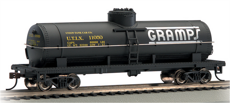 Bachmann 17832 Gramps 40' Single-Dome Tank Car, HO