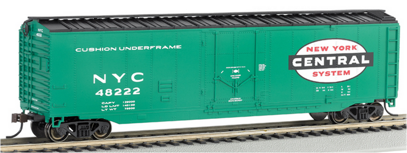 Bachmann 18020 New York Central - 50' Plug Door Box Car, HO