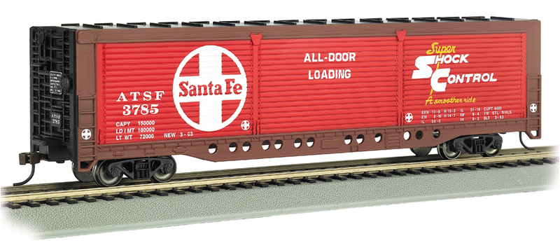 Bachmann 18140  ALL DOOR BOXCAR ATSF 3785, HO