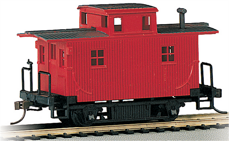 Bachmann 18449 Painted Unlettered - Bobber Caboose, HO