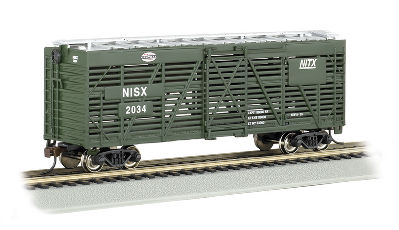 Bachmann 18520 New York Central 40' Stock Car, HO