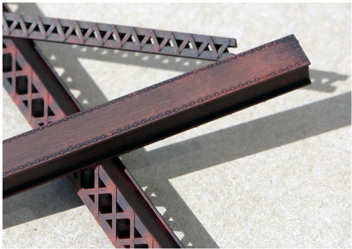 Central Valley Models 19005 HvyDuty LACED BRIDGE GIRDER, HO