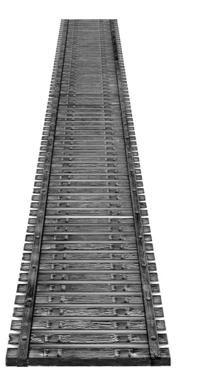 Central Valley Models 19032 72'LONG TIE SECTION, HO