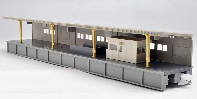 Kato USA 23111 One-Sided Platform B, N Scale