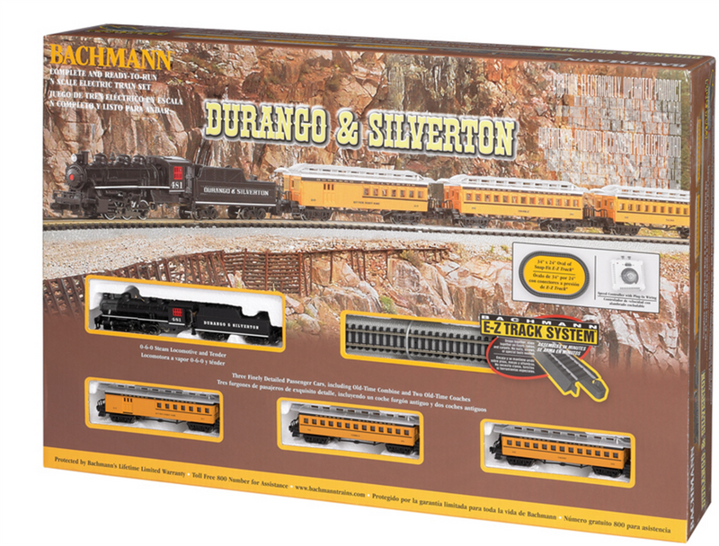 Bachmann 24020  DURANGO & SILVERTON TRAIN, N Scale