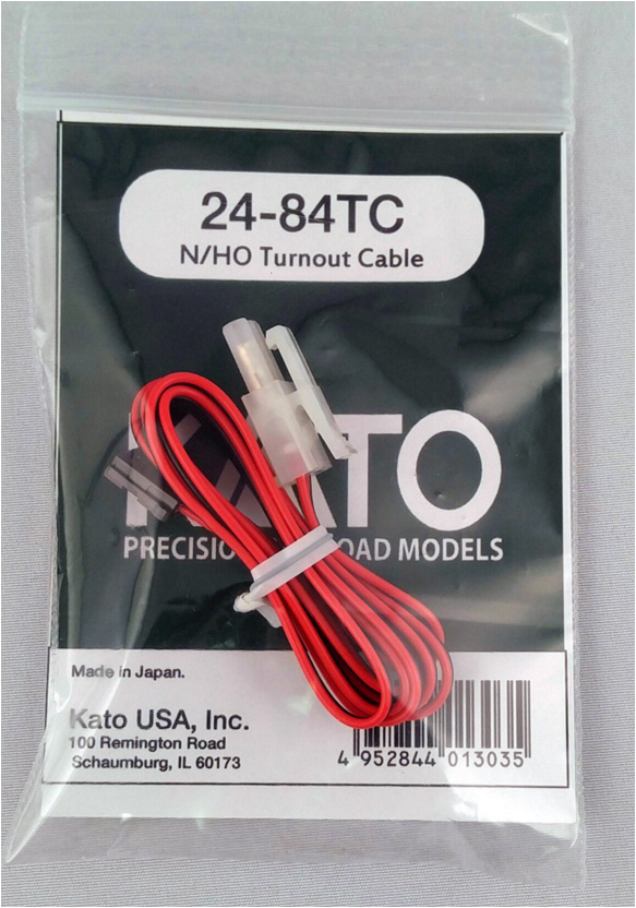 Kato USA 2484TC  TURNOUT CABLE, HO AND N Scale