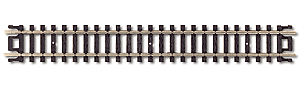 Atlas 2501 C80 5' STRAIGHT TRACK 6pc, N Scale