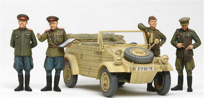 Tamiya 25153 RUSSIAN COMMANDERS STAFF CAR