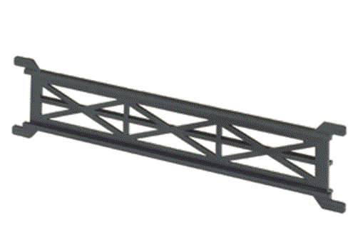 Atlas 2542  C80 STRAIGHT PIER GIRDER 4pc, N Scale