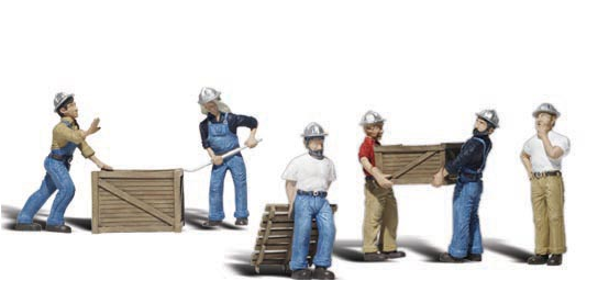 Woodland Scenics 2729  Dock Workers, O