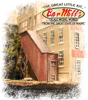 Bar Mills 305 COVERED STAIRWELLS 2pak, N Scale