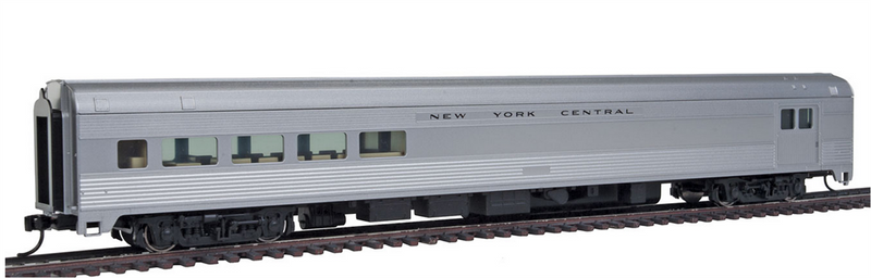 Walthers Mainline 910-30055 85' Budd Baggage-Lounge, New York Central- Ready to Run, HO