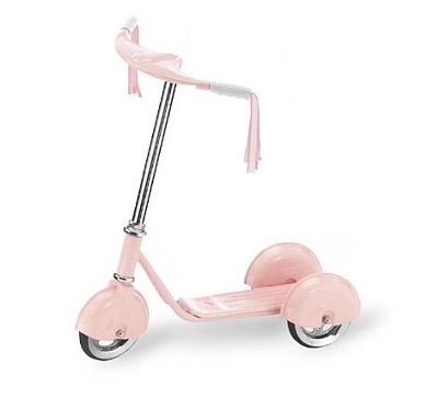 Morgan Cycle 31211 Retro Style 3 Wheel Scooter PINK