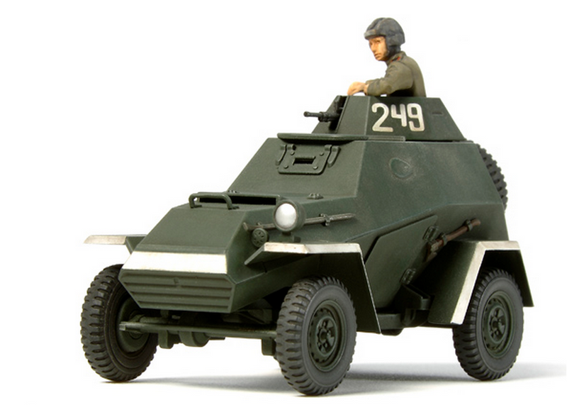 Tamiya 32576 RUSSIAN ARMOURED CAR 1:48
