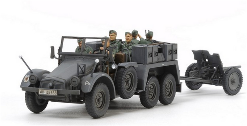Tamiya 32580 GERMAN 6x4 TOWING TRUCK 1:48