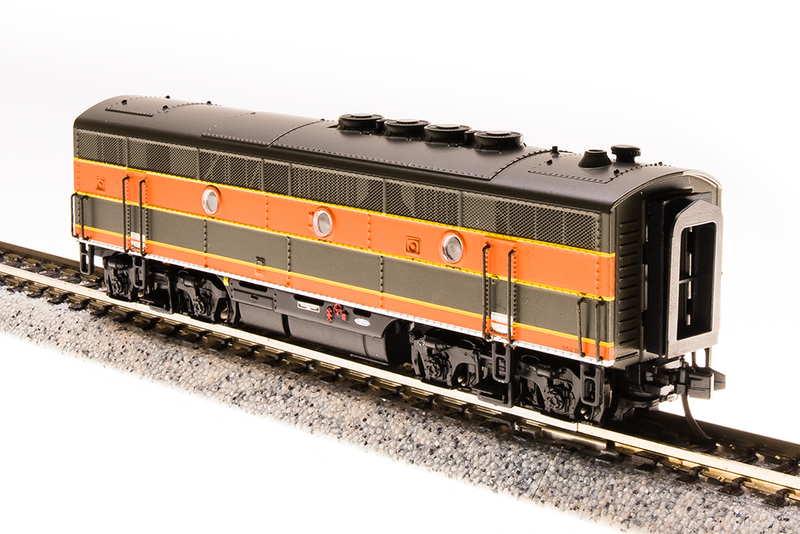 BLI 3491 EMD F3B, GN 351B, Empire Builder Scheme, Paragon3 Sound/DC/DCC, N Scale