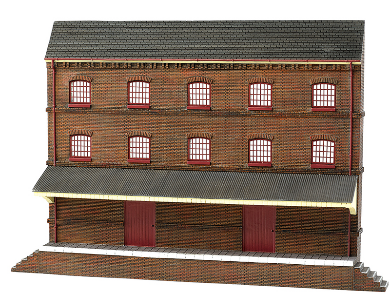 Bachmann 35008 Three Story Warehouse, HO