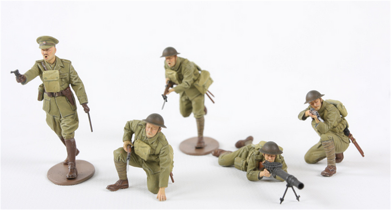 Tamiya 35339 BRITISH WW-I INFANTRY SET 1:35
