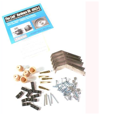New Rail Models 40023-5 FLEX LINK HARDWARE KIT