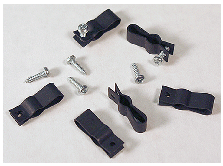 New Rail Models 40052 CLAMP & SCREW 6pk