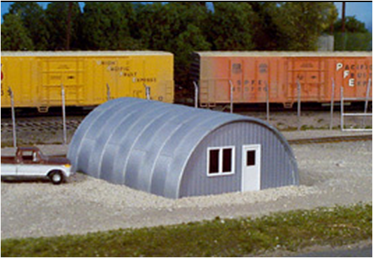 Rix Products- 6280410 QUONSET HUT, HO