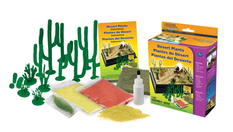 Woodland Scenics 4124 Desert Plants Kit
