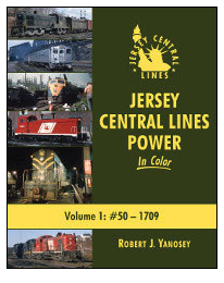 Morning Sun Books Inc 484-1557 Jersey Central Lines Power In Color -- Volume 1: