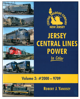 Morning Sun Books Inc 484-1568 Jersey Central Lines Power in Color -- Volume 2: