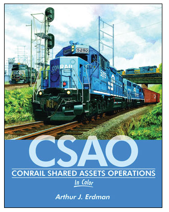Morning Sun Books Inc 484-1595 Conrail Shared Assets Operations in Color -- Hardcover, 128 Pages