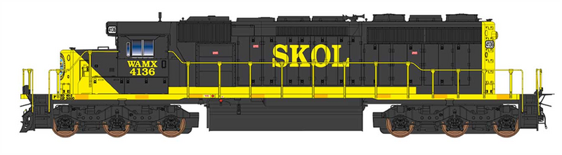 PREORDER InterMountain 49375S-01 SD40-2 W/DCC & Sound, Webb Asset Management