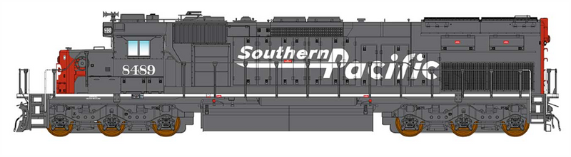 PREORDER InterMountain 49403(S)-02 SD40T-2 W/DCC & Sound, Southern Pacific - Speed Lettering
