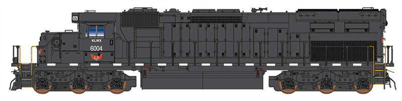 PREORDER InterMountain 49434(S)-02 SD40T-2 W/DCC & Sound, Knoxville Locomotive Works