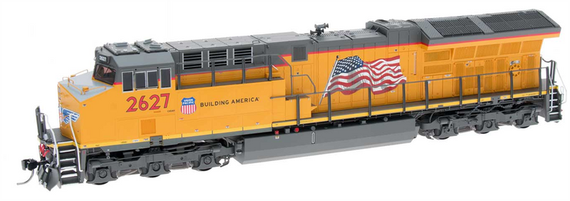 InterMountain 497104(S)-12 GE Evolution Series Tier 4 Locomotive, W/DCC & Sound, Union Pacific C45AH